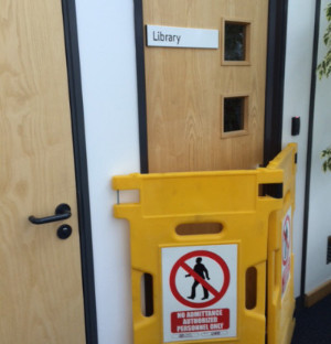 The Library at hte OU office in Manchester is now closed.