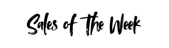 sales of the week