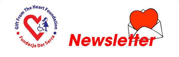 Newsletter Fundacji Dar Serca