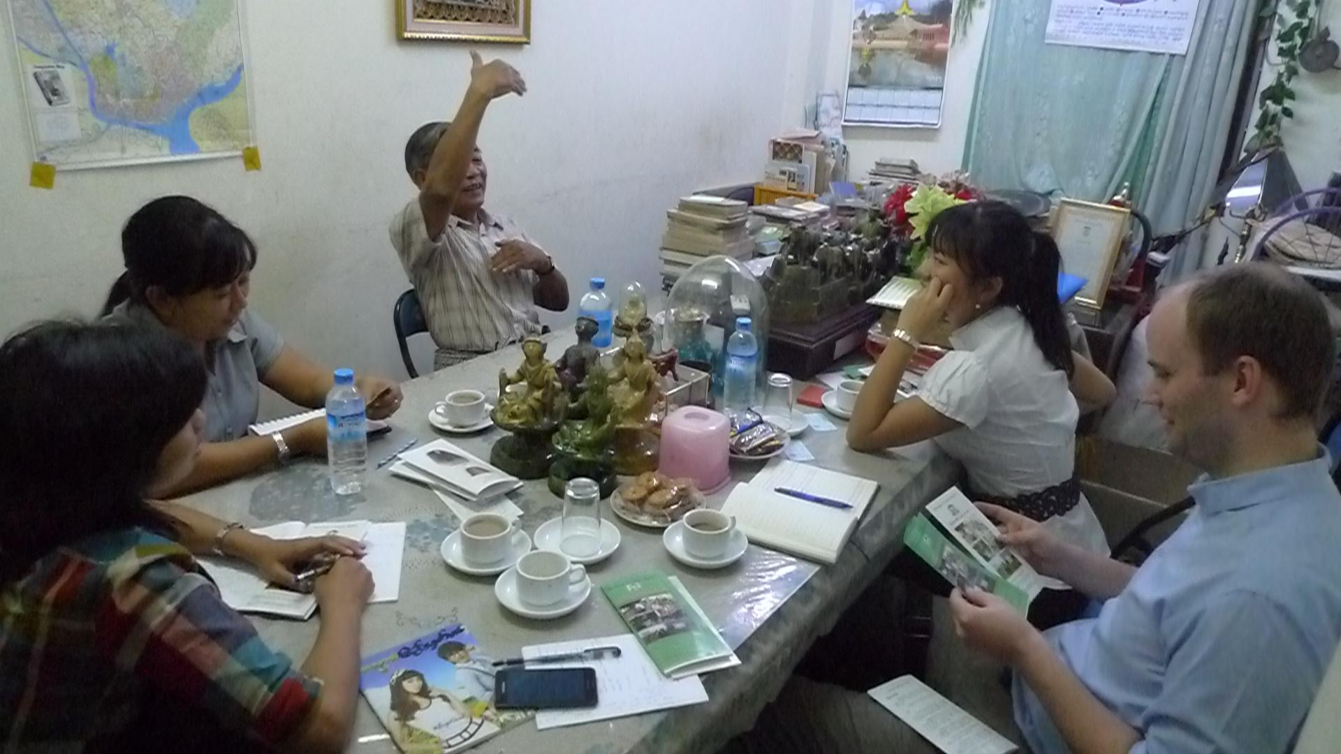 Shujog Research in Myanmar
