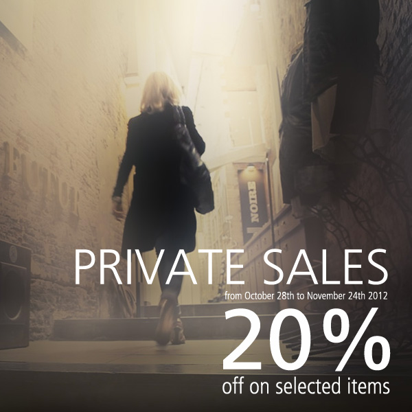 Private Sales Fall-Winter 2012-13 Collections