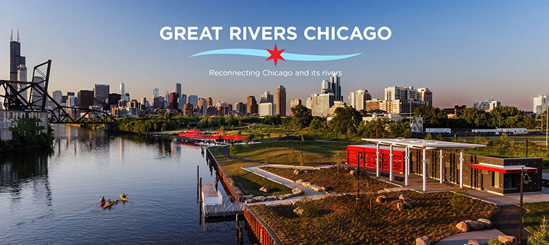 Great Rivers Chicago logo Ping Tom Park