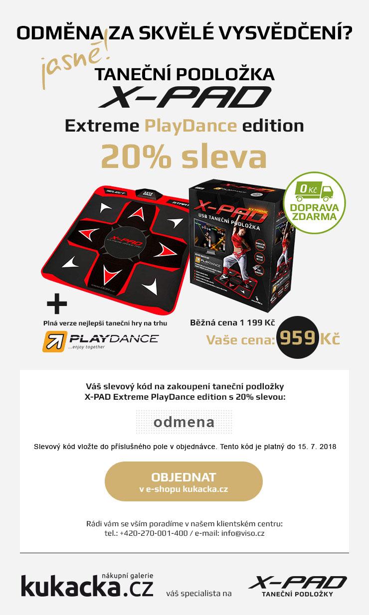 Odměna za skvělé vysvědčení: X-PAD