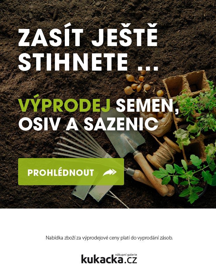 Výprodej semen, osiv a sezenic