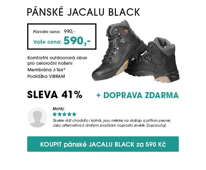 Pánské boty JACALU Black