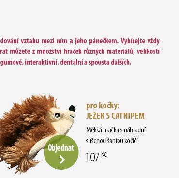 JEŽEK S CATNIPEM
