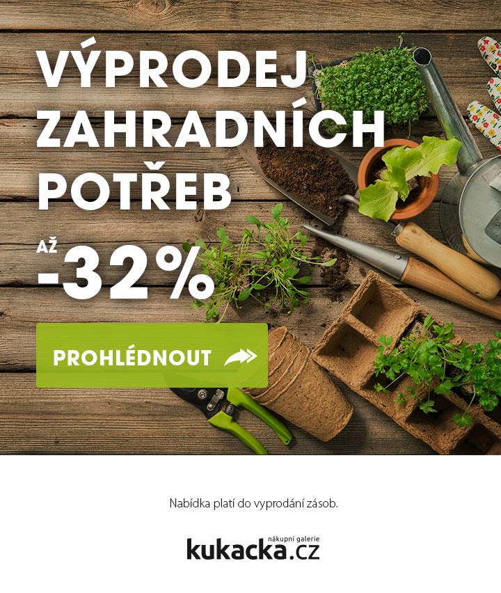 Výprodej zahradních potřeb