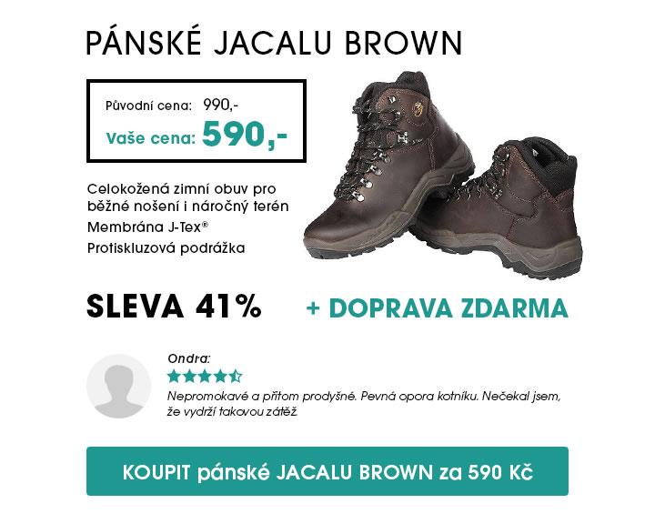 Pánské boty JACALU Brown