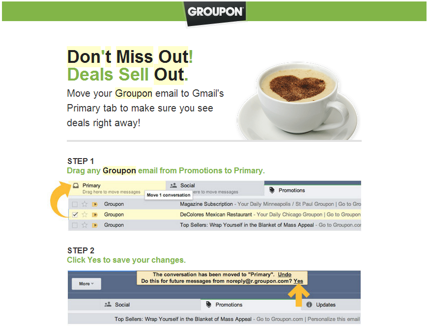 Heads Up: Fix Yo Groupon