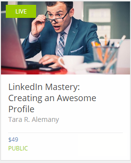 Creating an Awesome Profile course image