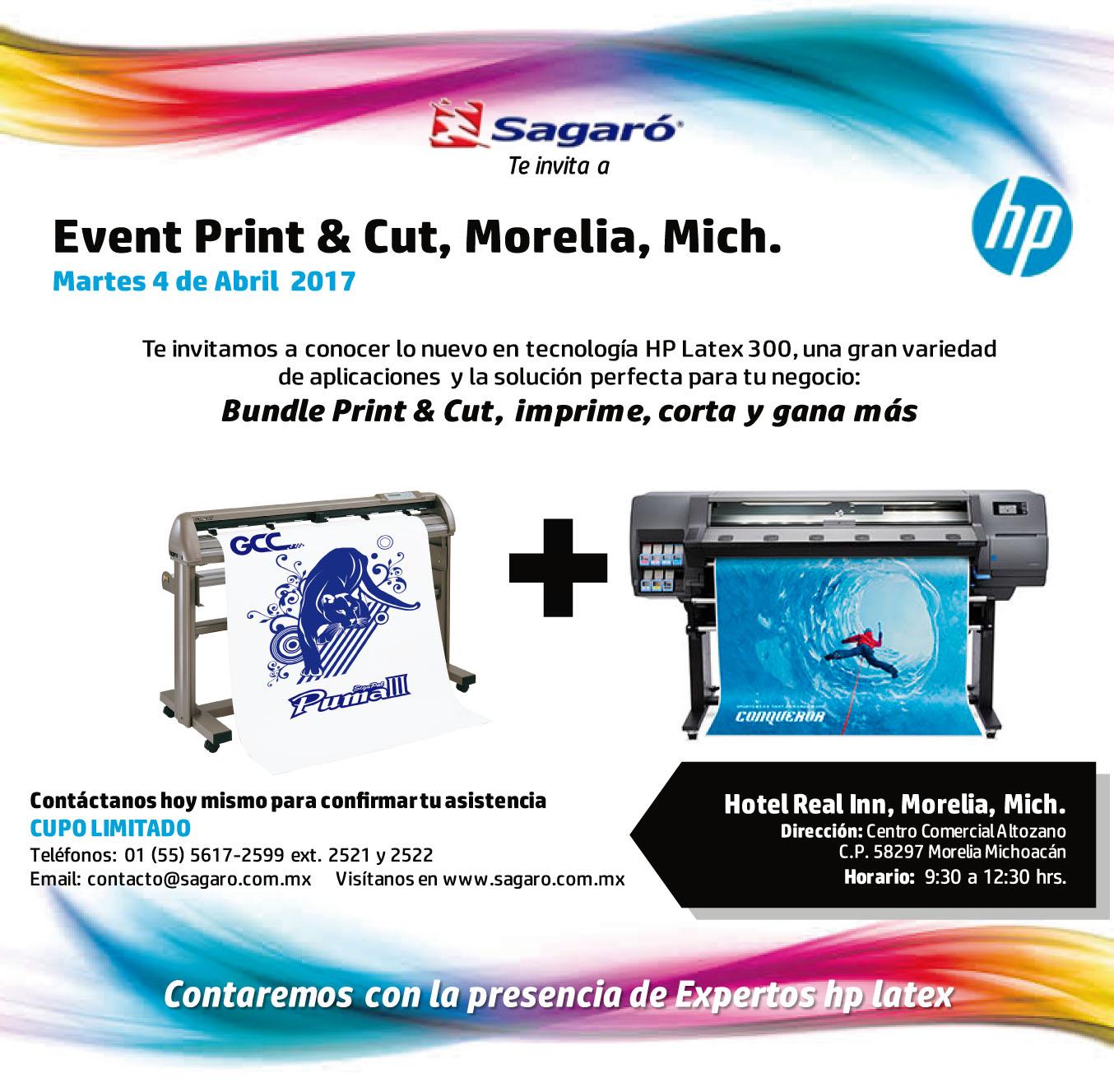 Event Print & Cut Morelia