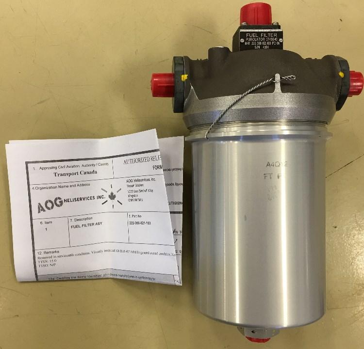 Bell 407/206 Arirframe Fuel Filter Assy