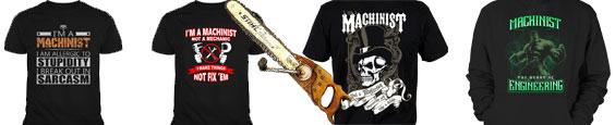 machinist t-shirts