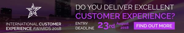 International Customer Experience Awards 2018