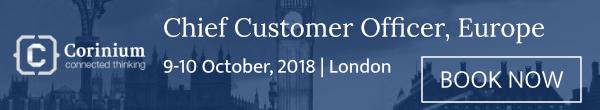 Chief Customer Officer Europe 2018 London