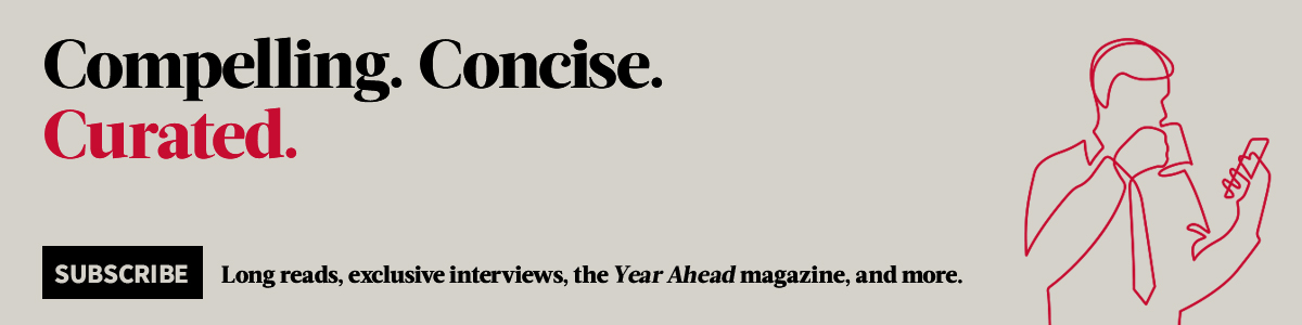 Compelling. Concise. Curated.