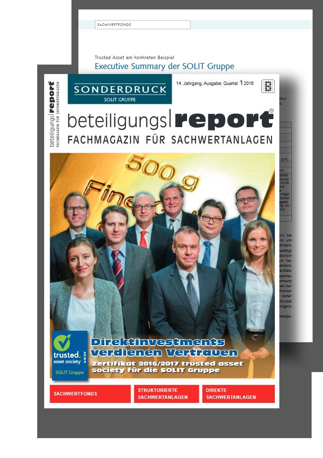 Beteiligungsreport - Sonderdruck