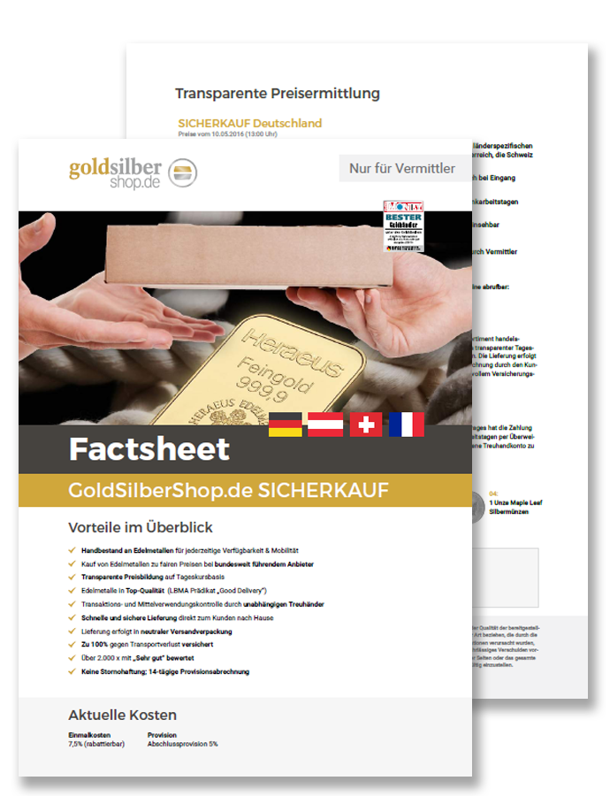 Download Factsheet SICHERKAUF
