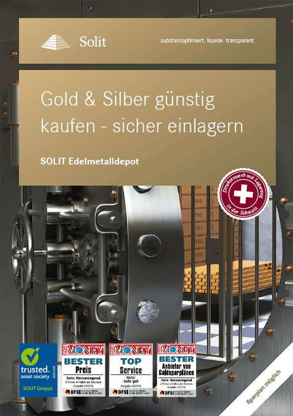 Teaserbild - Poster - SOLIT Edelmetalldepot
