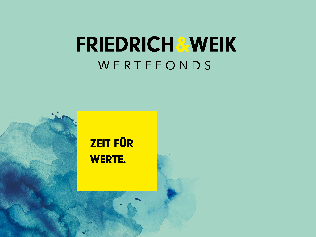Thomas Hellener - Vorstellung des Friedrich & Weik Wertefonds