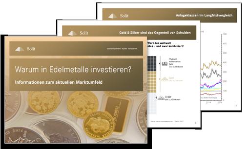 PDF-Präsentation: Warum in Edelmetalle investieren? - Zeit für Gold und Silber.