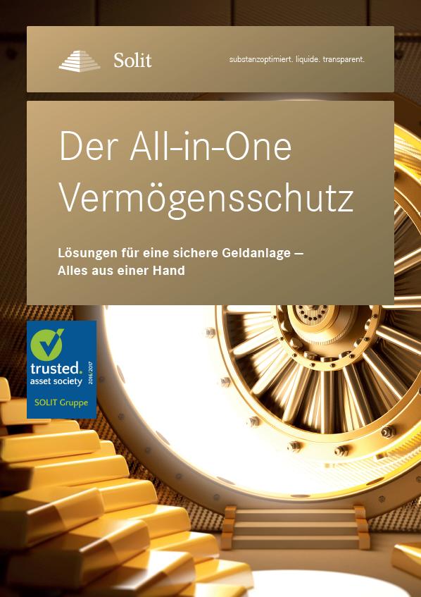 SOLIT All-in-One Vermögensschutz - Plakat