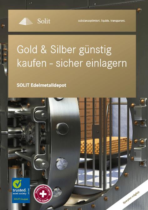 SOLIT Edelmetalldepot - 8-seitige Kurzübersicht