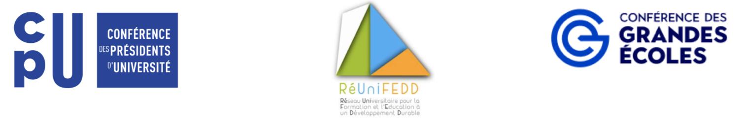 Logos CPU, RéUniFEED, CGE