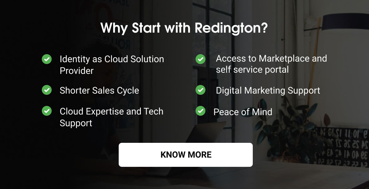 Why Start with Redington?