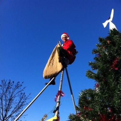 Santa at Brand St