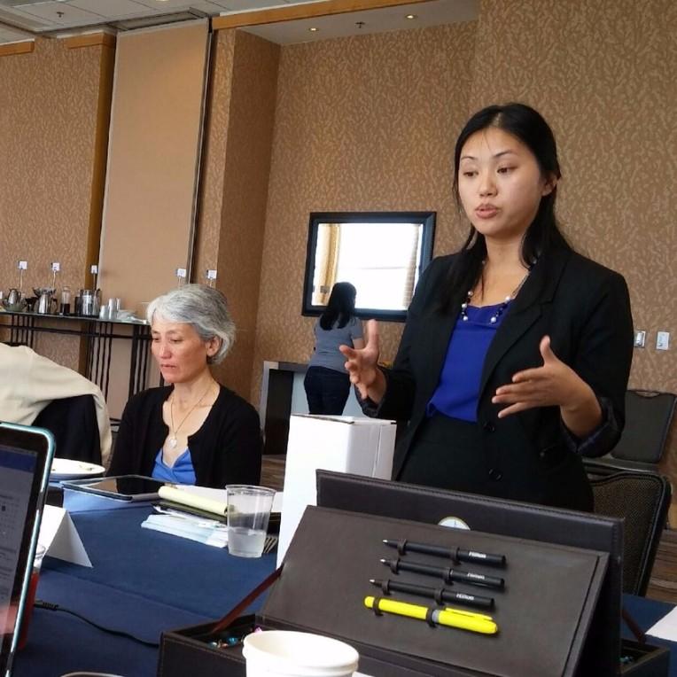 Theresa Lau presents at NAPABA Convention