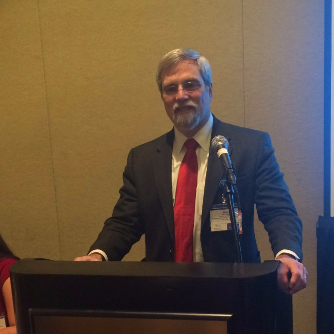Marc Cohan presents at the NLADA Conference