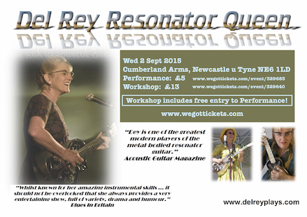 Del Rey Resonator Queen! Ukes4Fun Workshop at The Cumberland Arms 2014