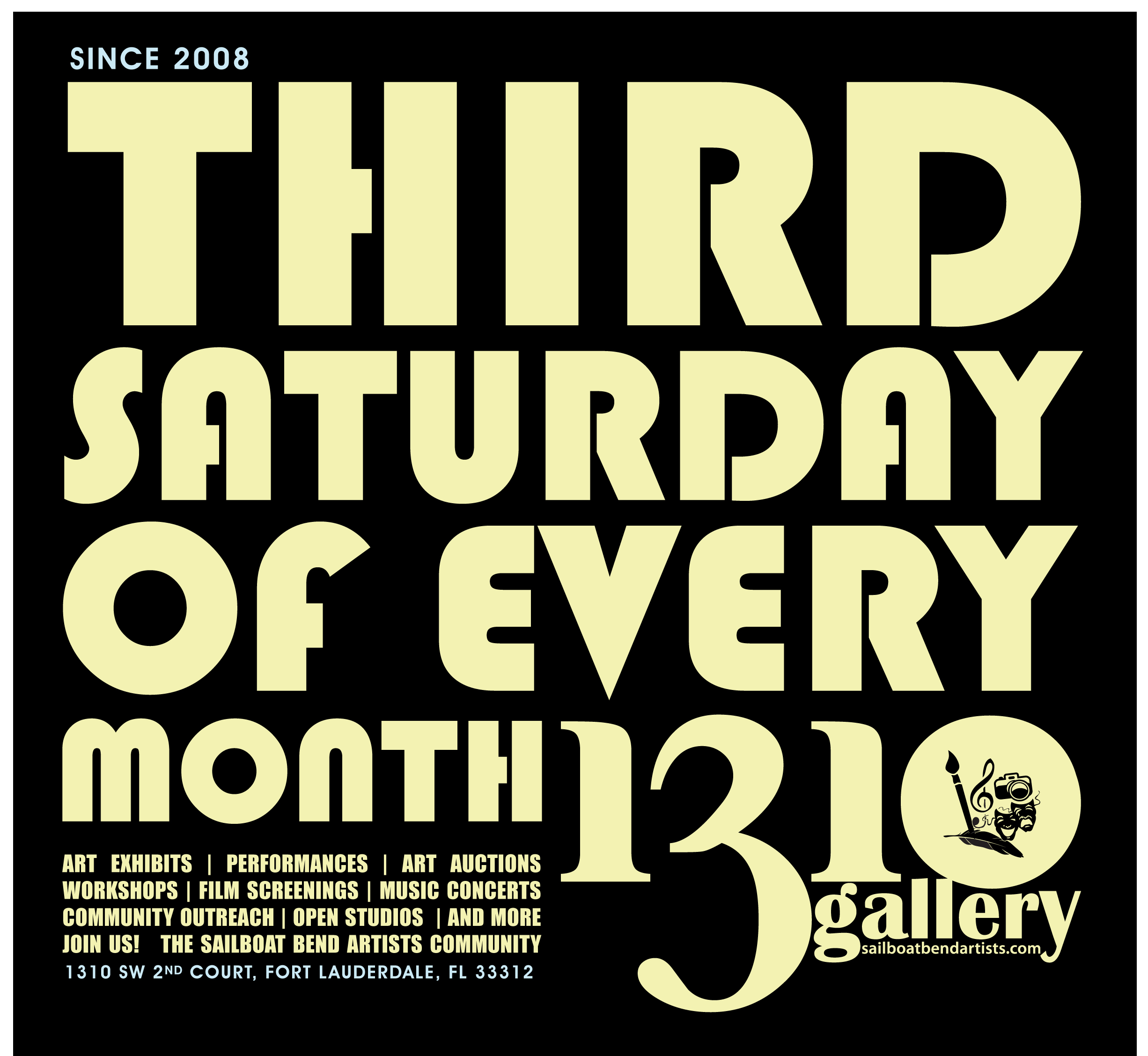 1310 Gallery - Every Third Saturday of the Month