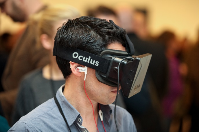 Delegate using Oculus Rift