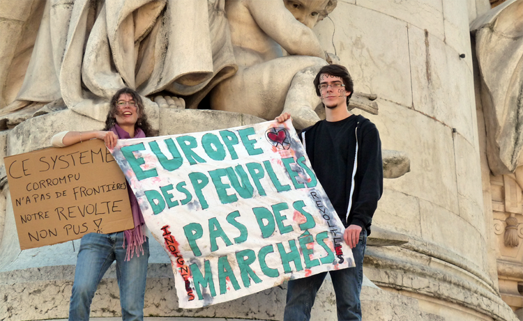 GLOBAL EUROPE, LOCAL EUROPE & PROTEST IN THE AGE OF SOCIAL OSMOSIS