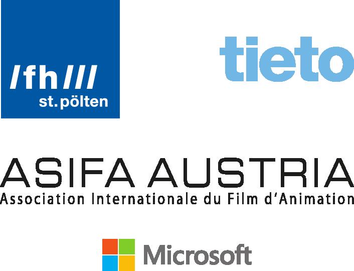 Partner: FH St. Pölten, Tieto, ASIFA Austria, Microsoft