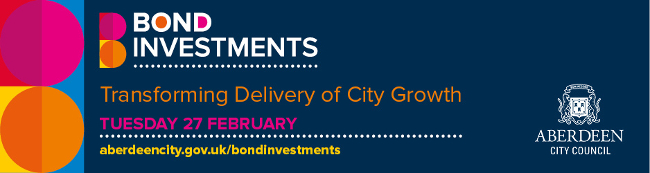 Event: Bond Investments – Transforming Delivery of City Growth