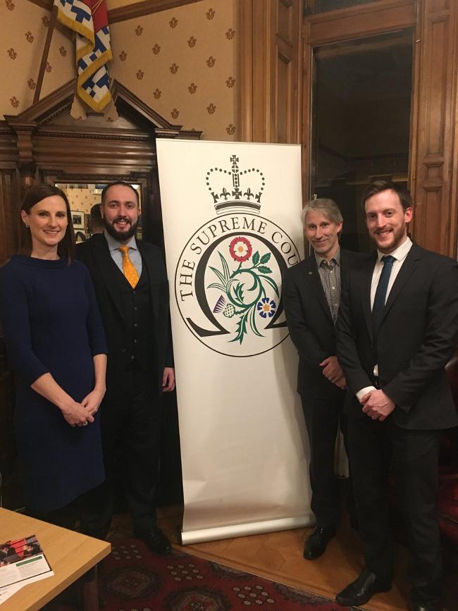 Judicial Assistants discuss 'dream job' at annual Edinburgh event
