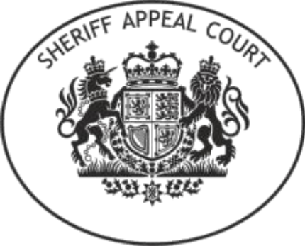 Sheriff Appeal Court