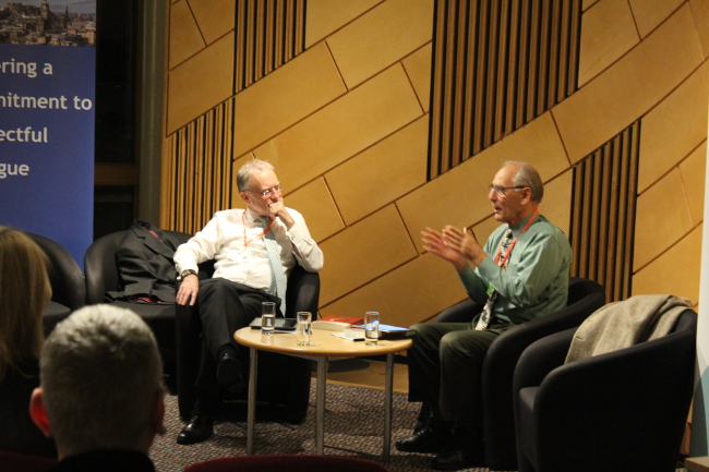 International mediator, writer and thinker Ken Cloke returns to Edinburgh