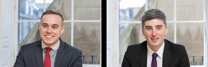 Iain Thomson and Mark Boni