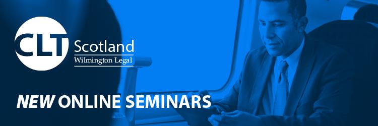 CLT Scotland launches online seminar programme