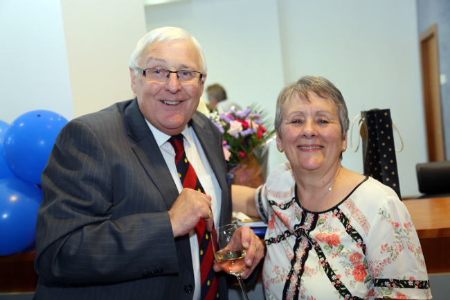 End of an era at Thorntons as Jack Robertson retires