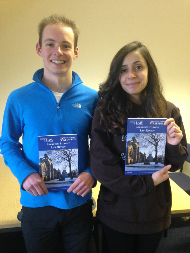 Latest edition of Aberdeen Student Law Review published
