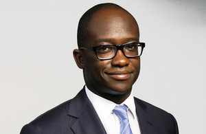 Justice Minister Sam Gyimah