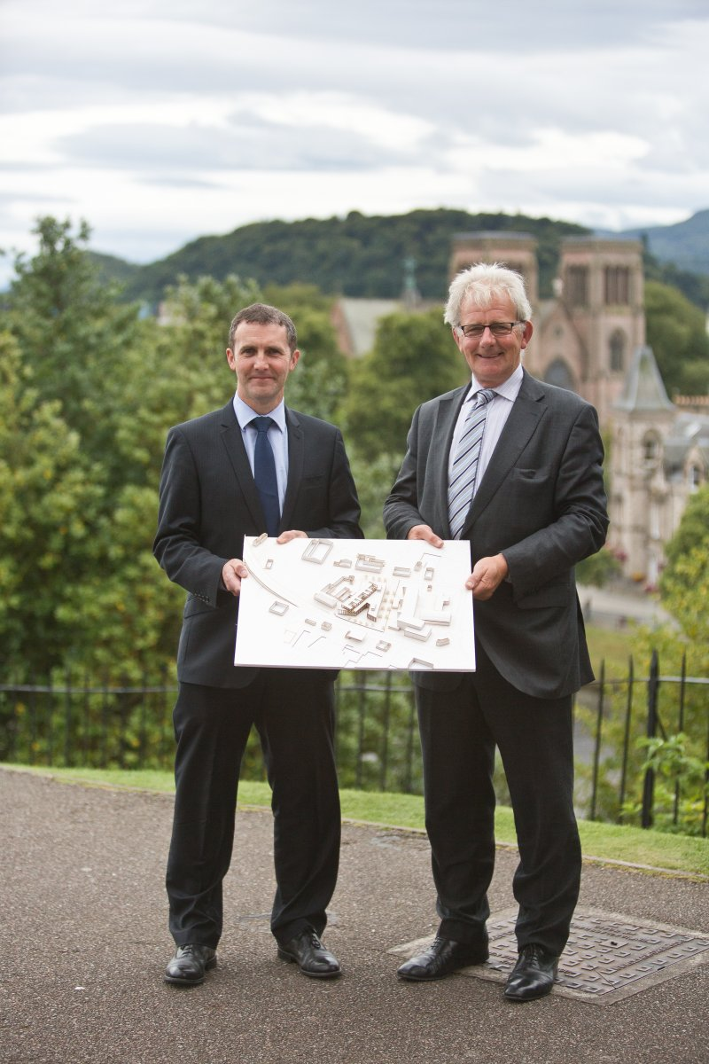 Inverness Justice Centre designs unveiled