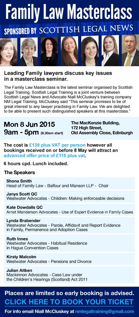 Family Law Masterclass