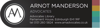 Arnot Manderson Annual Conference 2018: Prison Law – A Developing Story