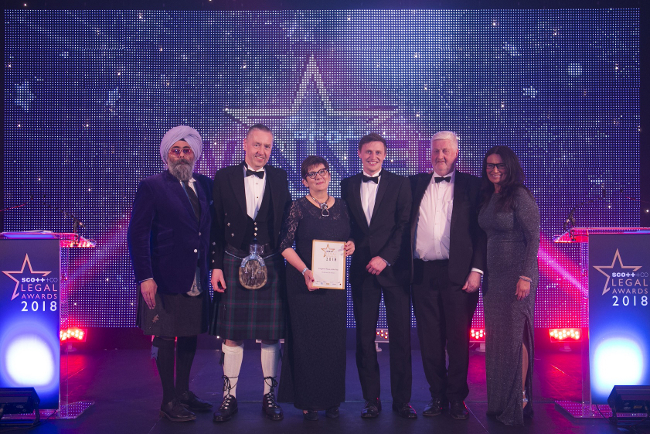 Anderson Strathern takes litigation prize at Scottish Legal Awards